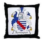 Remington Family Crest Throw Pillow