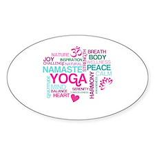 Yoga Inspirations Decal