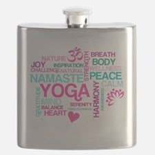 Yoga Inspirations Flask