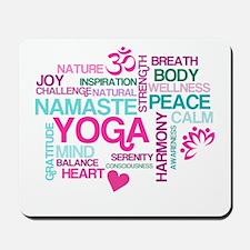 Yoga Inspirations Mousepad