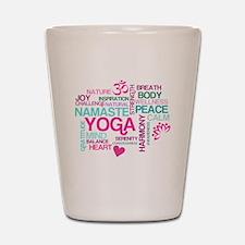 Yoga Inspirations Shot Glass