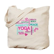 Yoga Inspirations Tote Bag