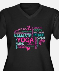 Yoga Inspirations Plus Size T-Shirt