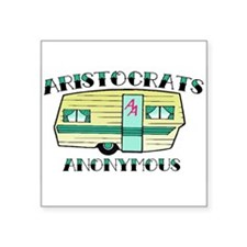 Aristocrats Anonymous Sticker