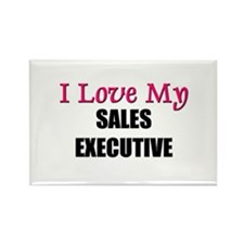 I Love My SALES EXECUTIVE Rectangle Magnet