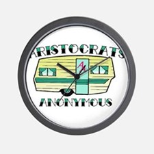 Aristocrats Anonymous Wall Clock
