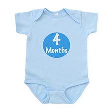 Four Months Onesie Body Suit