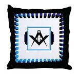The Altar in the Temple Throw Pillow