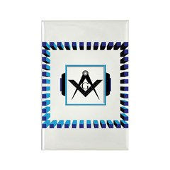 The Altar in the Temple Rectangle Magnet (10 pack)