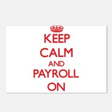 Keep Calm and Payroll ON Postcards (Package of 8)