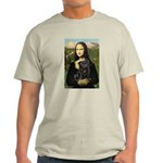 Mona's Black Pug Light T-Shirt