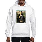 Mona's Black Pug Hooded Sweatshirt