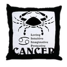 CancerLIGHTFRONT Throw Pillow