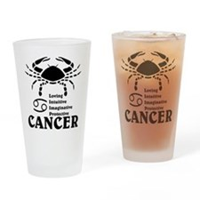 CancerLIGHTFRONT Drinking Glass