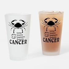 CancerLIGHTFRONT Drinking Glass