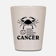 CancerLIGHTFRONT Shot Glass