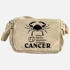 CancerLIGHTFRONT Messenger Bag
