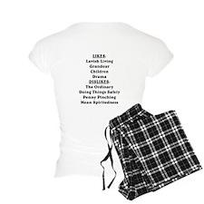 CancerLIGHTFRONT Pajamas