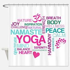 Yoga Inspirations Shower Curtain