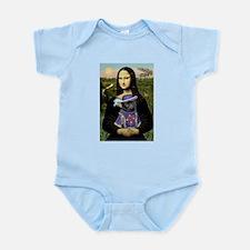 Mona & Sir Pug Infant Bodysuit