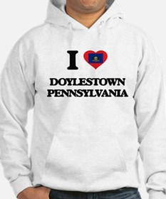 I love Doylestown Pennsylvania Hoodie