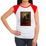 Lincoln-Black Pug Women's Cap Sleeve T-Shirt