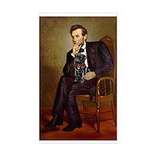 Lincoln-Black Pug Decal