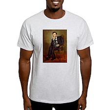 Lincoln-Black Pug T-Shirt