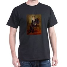 Lincoln-Black Pug T-Shirt