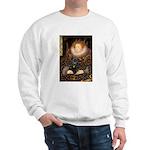 The Queen's Black Pug Sweatshirt