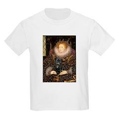 The Queen's Black Pug T-Shirt