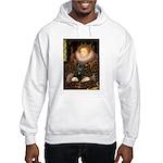 The Queen's Black Pug Hooded Sweatshirt