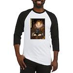 The Queen's Black Pug Baseball Jersey