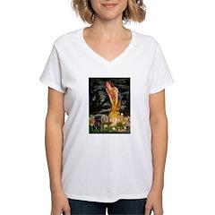 Fairies & Black Pug Shirt