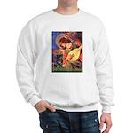Mandolin Angel / Black Pug Sweatshirt