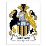 Redwood Family Crest Small Poster