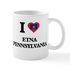 I love Etna Pennsylvania Mugs