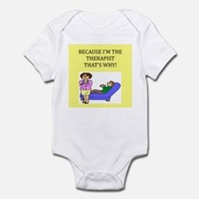 therapist gifts t-shirts Infant Bodysuit