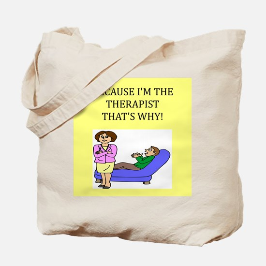 therapist gifts t-shirts Tote Bag