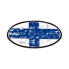 Vintage Finland flag Patch