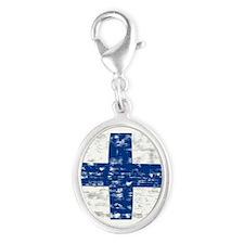 Vintage Finland flag Charms