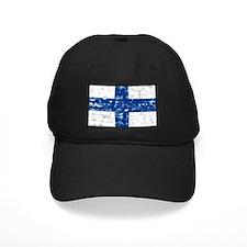 Vintage Finland flag Baseball Hat