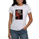 Lady / Black Pug Women's T-Shirt