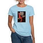 Lady / Black Pug Women's Light T-Shirt