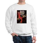 Lady / Black Pug Sweatshirt