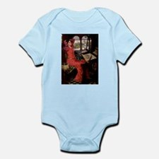 Lady / Black Pug Infant Bodysuit