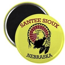 Santee Sioux Magnets