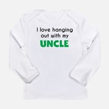 I Love Hanging Out With My Uncle Long Sleeve T-Shi