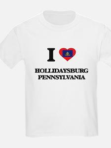 I love Hollidaysburg Pennsylvania T-Shirt