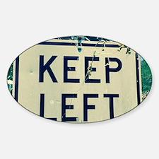 keep left Decal